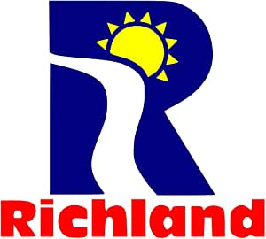 magFlags Large Flag of The Richland City Flag | Landscape Flag | 1.35m² | 14.5sqft | 90x150cm | 3x5ft - 100% Made in Germany - Long Lasting Outdoor Flag
