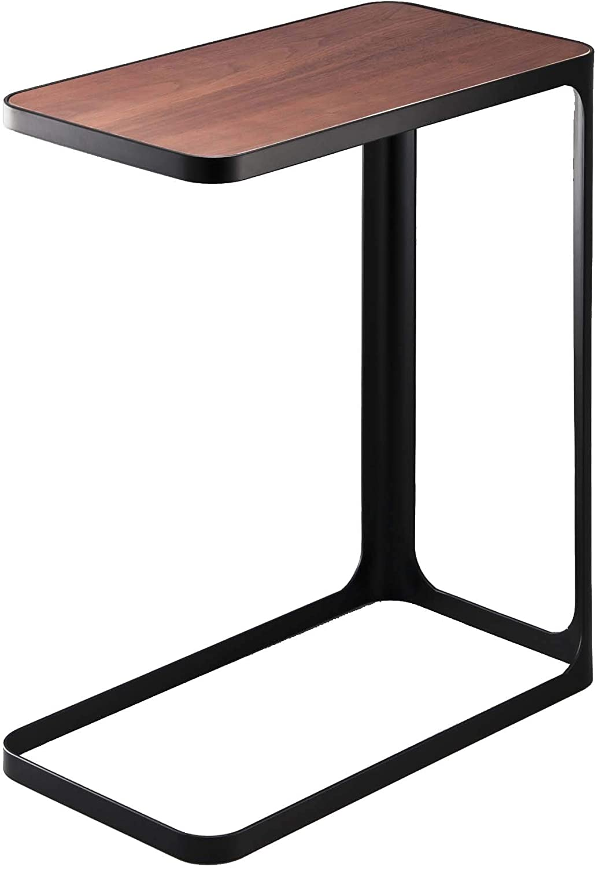 YAMAZAKI home Compact Tower Side Table, Black