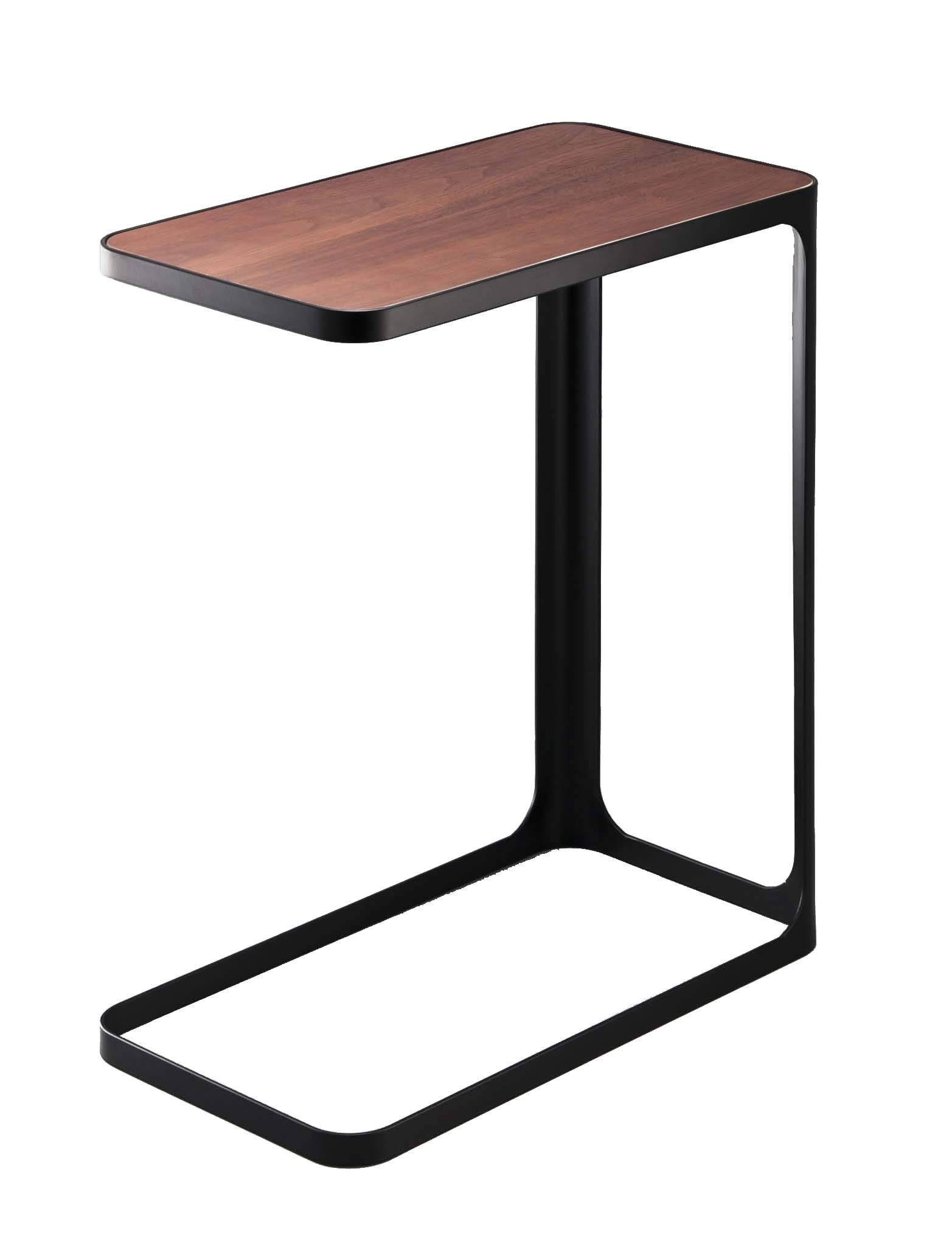 YAMAZAKI home Compact Tower Side Table, Black by YAMAZAKI home
