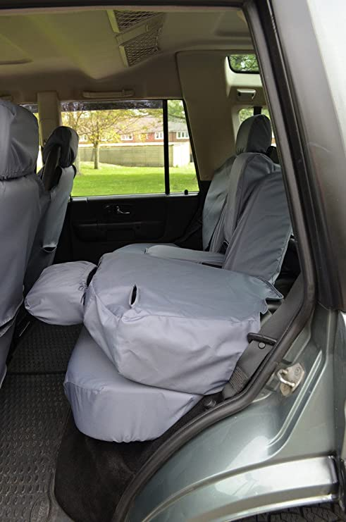 Amazon.es: Tortuga cubre lrdi98rezz Tailored impermeable lavable para asiento trasero