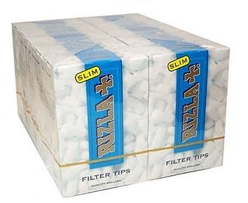15cdd3cc0a1b RizlaTrade 1500 FILTRI RIZLA Slim da 6 mm per Sigarette 10 SCATOLE Box da  150 FILTRINI: Amazon.it: Casa e cucina