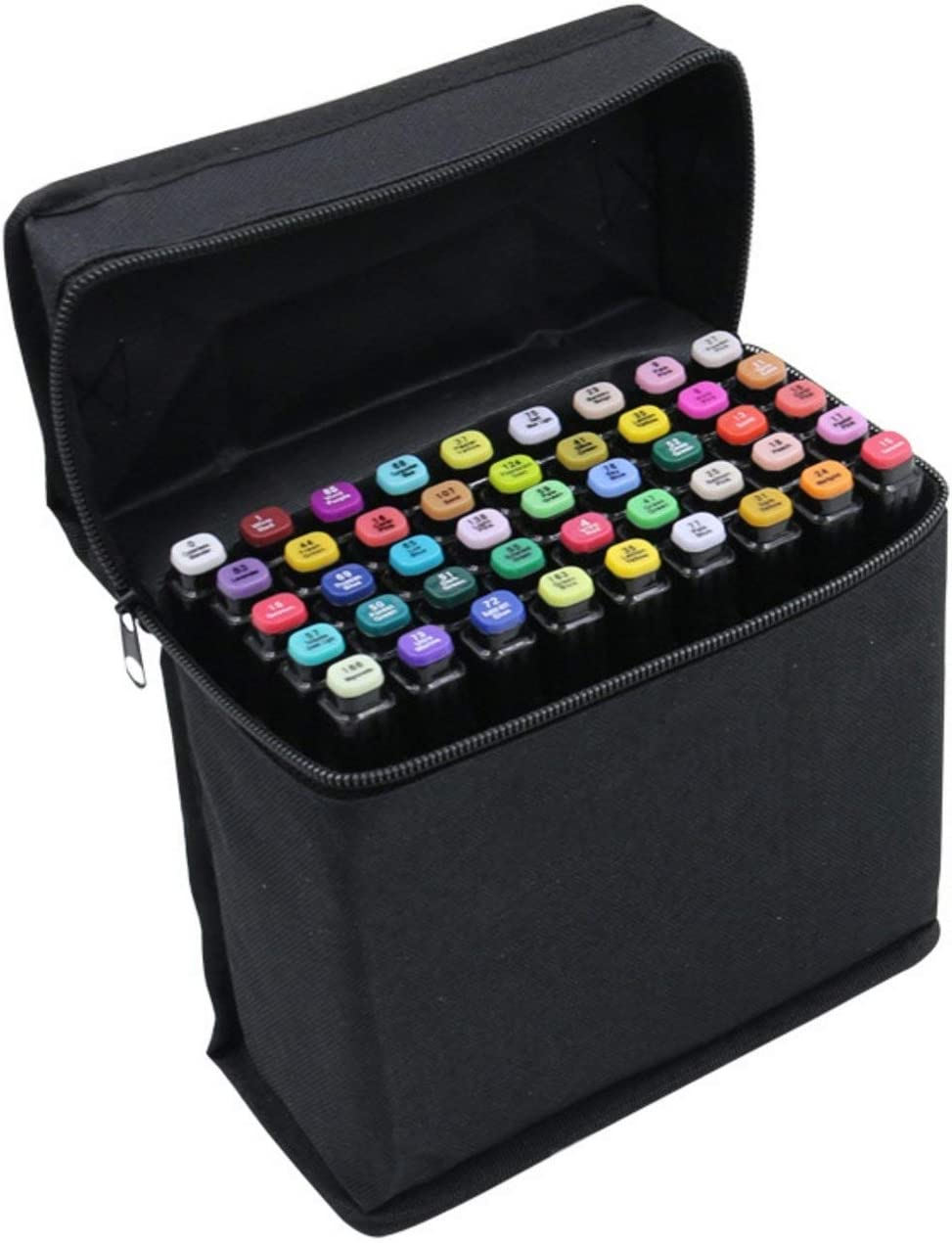 Amazon Com Kirinstores Tm 40 Colors Set Pens And Markers Art Sketch Twin Marker Pens Broad Fine Point Fashion Design Office Products