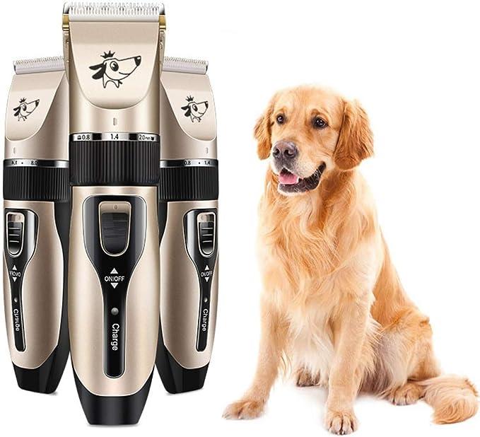 para Mascotas Cortador de Pieles para Perros Aseo Profesional Pelo recortador Ardorlove USB Recargable de bajo Ruido Gatos y Otros Animales Herramienta peluqueros sin Cable