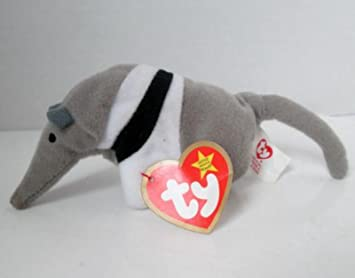 dcec913a05f TY Teenie Beanie Babies Antsy the Anteater Stuffed Animal Plush Toy - 7  inches long -