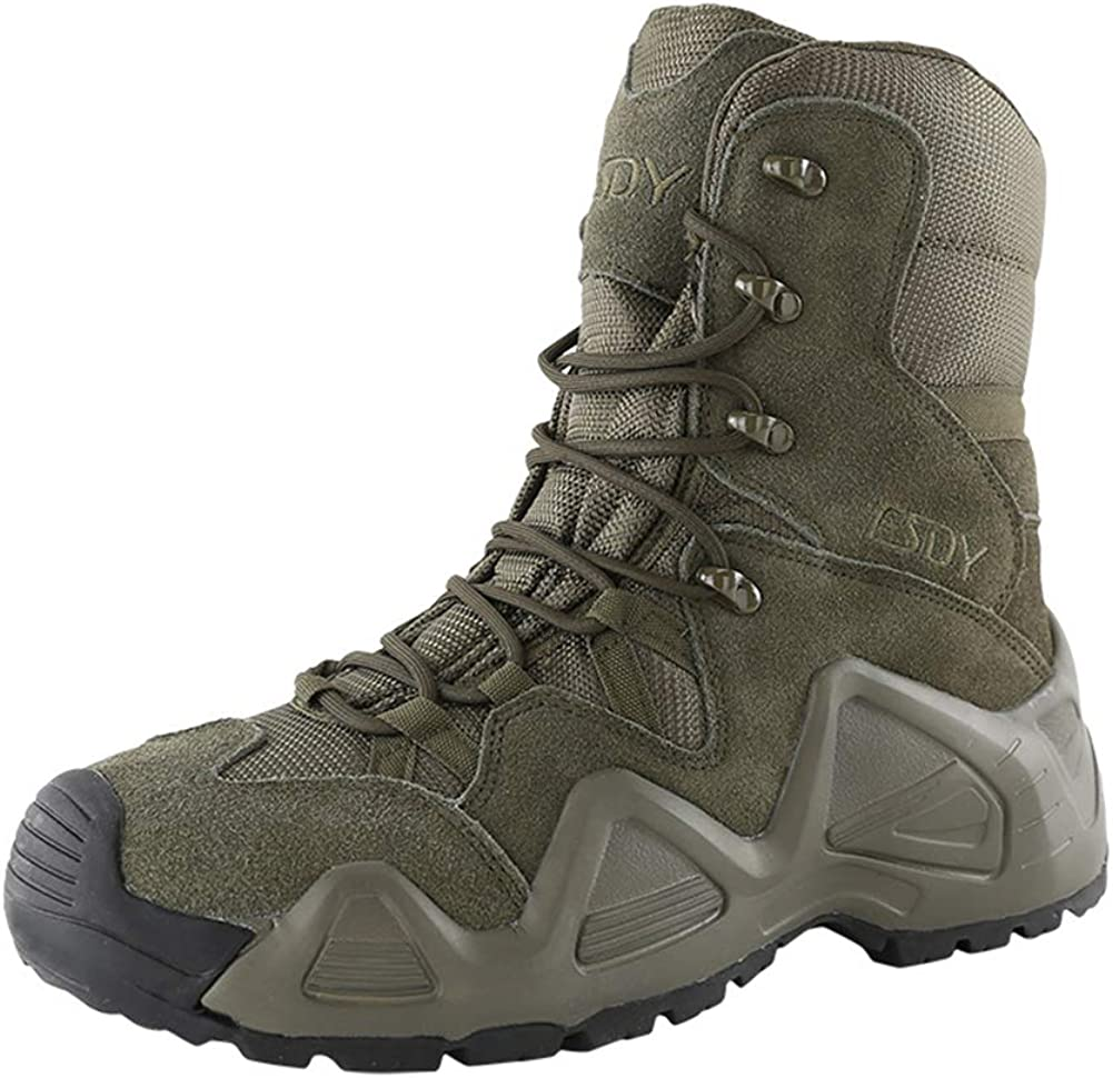 Non-Slip Tactical Combat Boots for Male