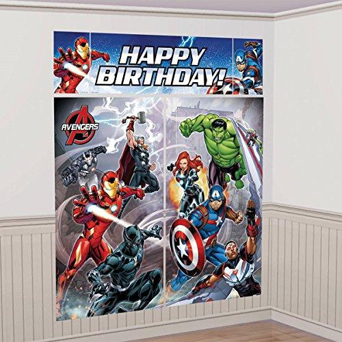 5-Piece Avengers Scene Setter Set, Multicolored