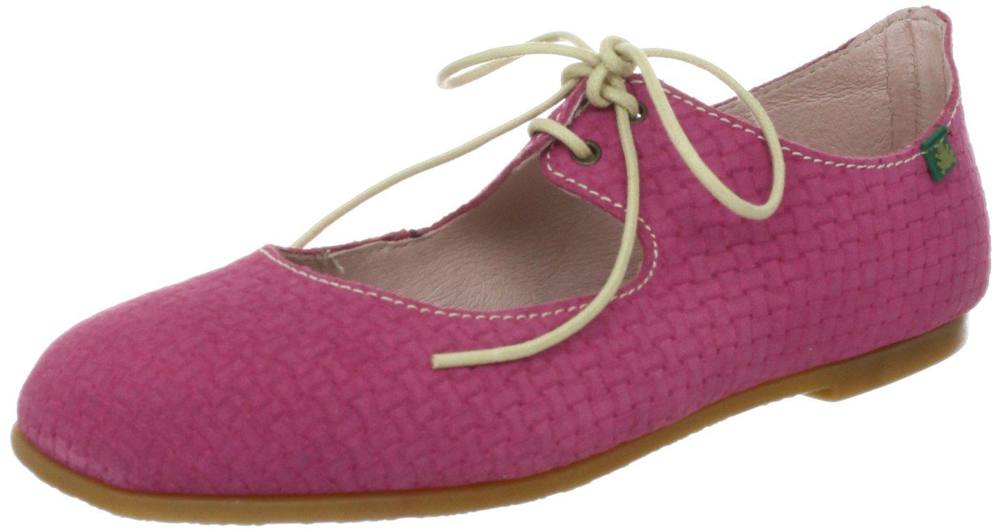 El Naturalista Women's Croche N960 Flat B009GCX8FM 38 EU/7-7.5 M US|Suede Pink