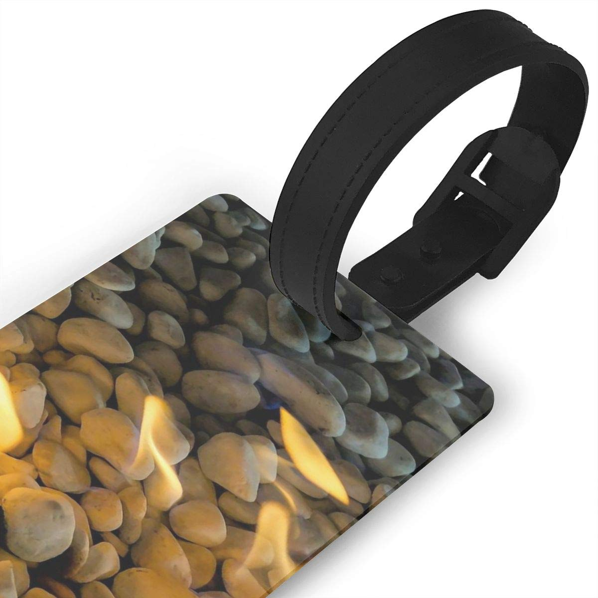 Cobblestone Travel Tags For Suitcase Bag Accessories 2 Pack Luggage Tags