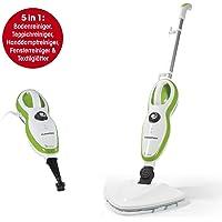 CLEANmaxx 01378 Dampfreiniger 5in1   1500W   Dampfbesen   hygienische Sauberkeit
