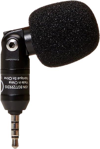 AmazonBasics - Micrófono de condensador para teléfonos inteligentes: Amazon.es: Informática