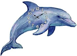 Personalized Cat /& Dolphins Under The Sea  Wall Clock