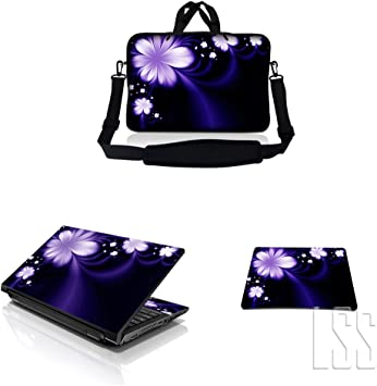 Flower Dots 17 Inch Protective Laptop Sleeve Ultrabook Notebook Carrying Case Compatible with MacBook Pro MacBook Air Notebook