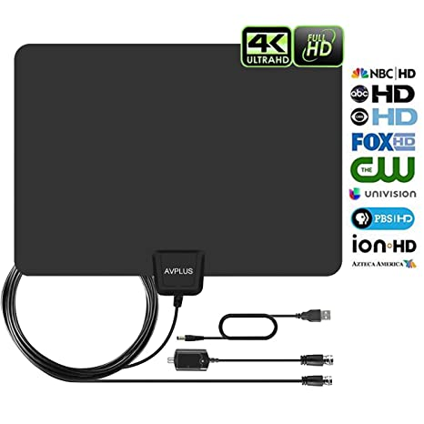 Review HDTV Antenna - Amplified