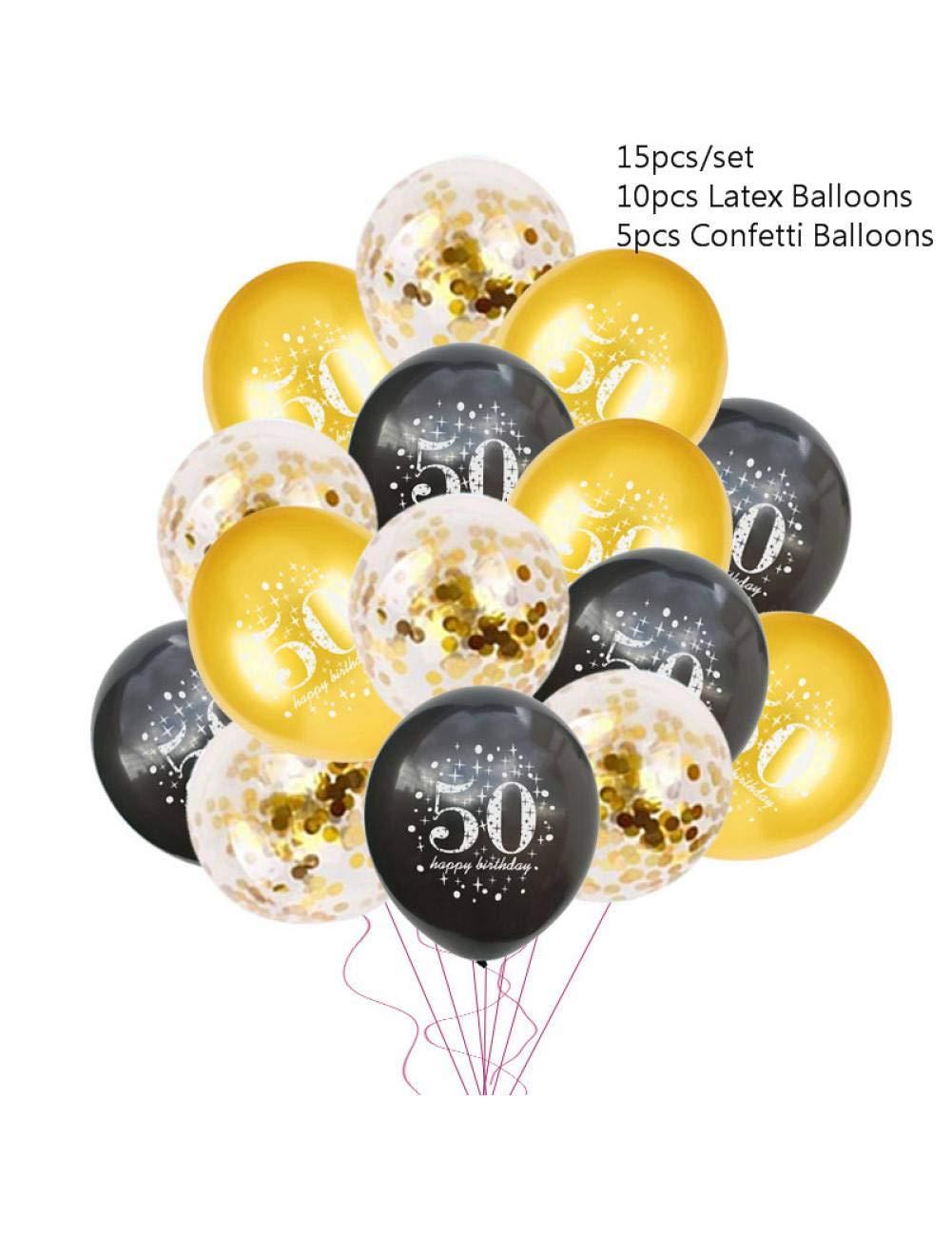 WSJQQ 30 40 50 60 Globos De Aniversario Decoraciones De ...