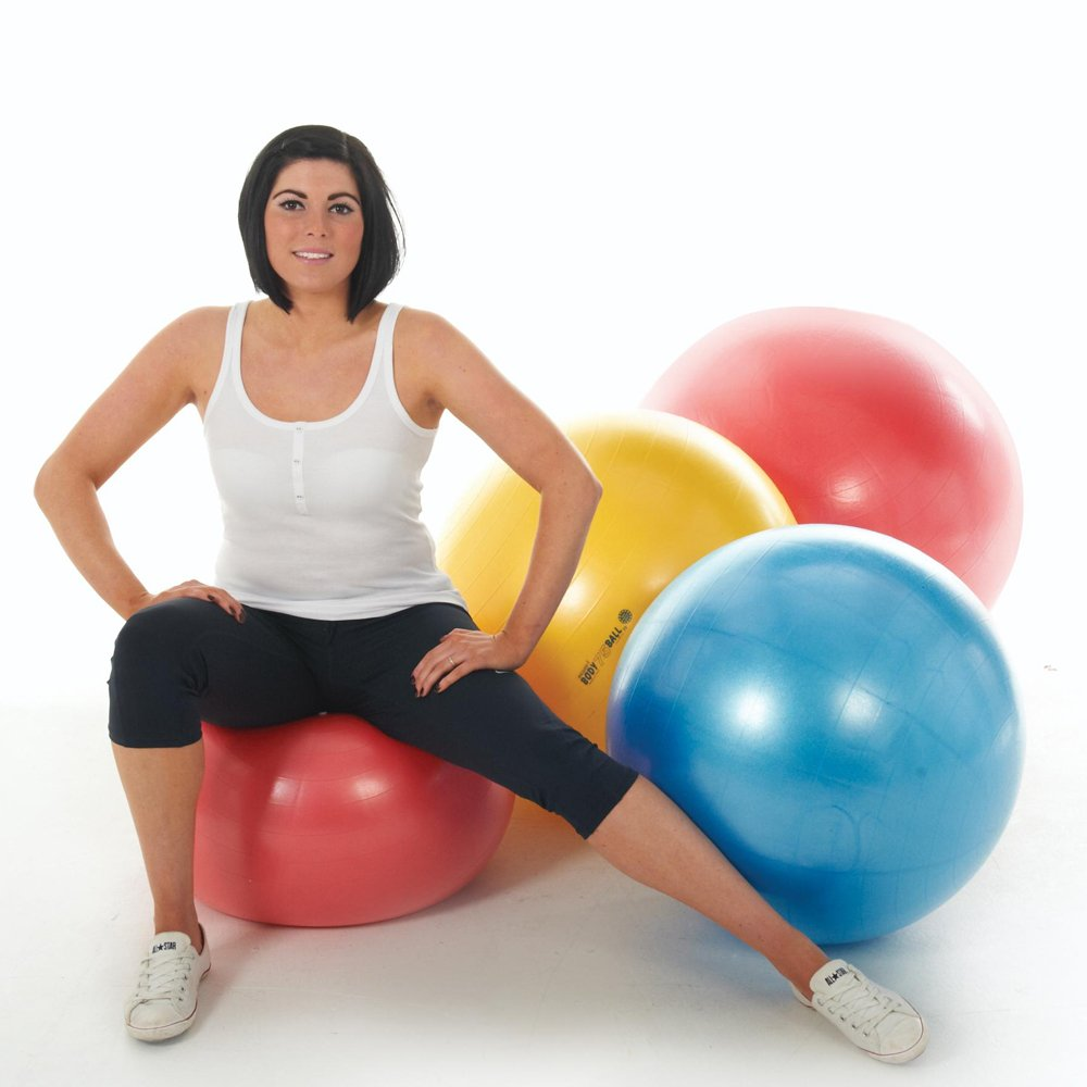 Gymnic Gymnastikball, Training/Fitnessstudio-Zubehör, allgemeines Spiel und Therapie-Sitzungen, Sitzball