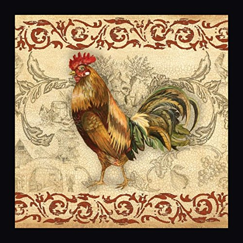 - Toile Rooster I by Gregory Gorham - 22