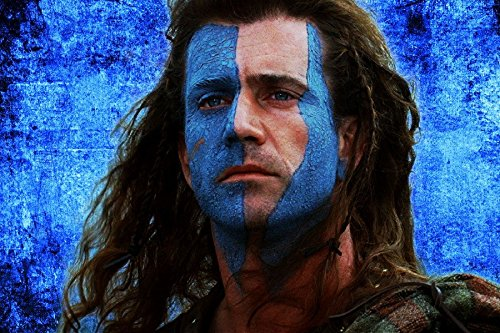 Mel Gibson Braveheart Actor Man Person Background Warrior Tv