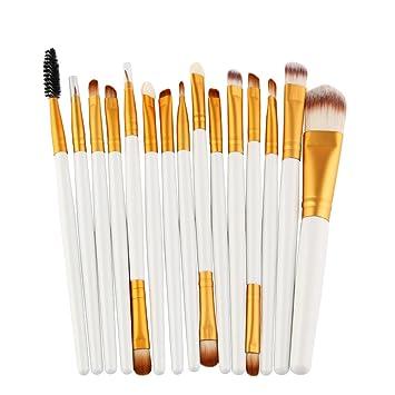 5842a2bc0b2d Amazon.com: Kaitobe Clearance Makeup Brush Set, 15pcs Premium ...