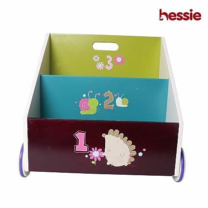 Hessie Pequeño niño pequeño empaqueta el estante / la estantería de ...