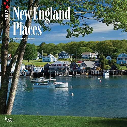 "New England Places 2017 Wall Calendar 12"" x 12"""