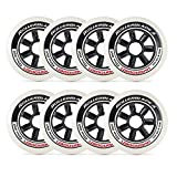 Rollerblade 100mm / 85A Hydrogen Wheels - 8 Pack