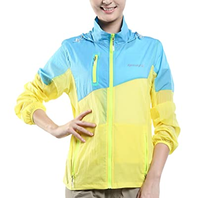 Alafen Unisex Nylon Ultrathin Breathable Waterproof Sports Windbreaker Skin Coat