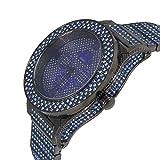 Techno King Men's Modern Vibe Series Darkness Blue Watch (6011GM Black Blue)