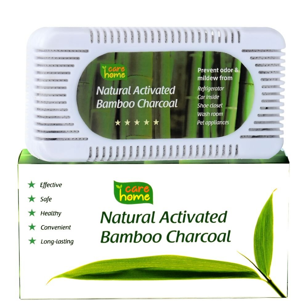 Amazon.com: Natural Activated Charcoal Odor Eliminator By CareHome   Best  Refrigerator Deodorizer And Air Purifier   Closet Deodorizer And Pet Odor  Remover ...