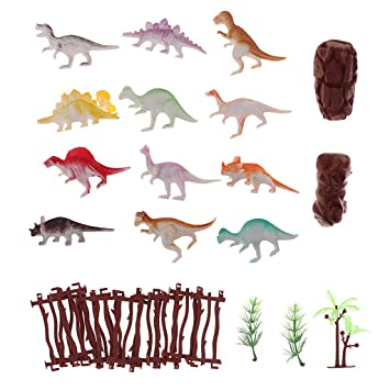 Amazon.com: Flameer - Juego de 27 figuras de dinosaurios ...