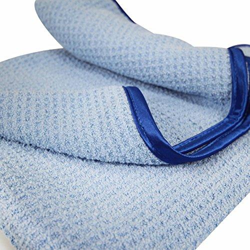 [해외]화학 가발 MIC_703S_01 와플 짜기 수건 (청색 26 x 32)/Chemical Guys MIC_703S_01 Waffle Weave Drying Towel (Blue 26 x 32 )