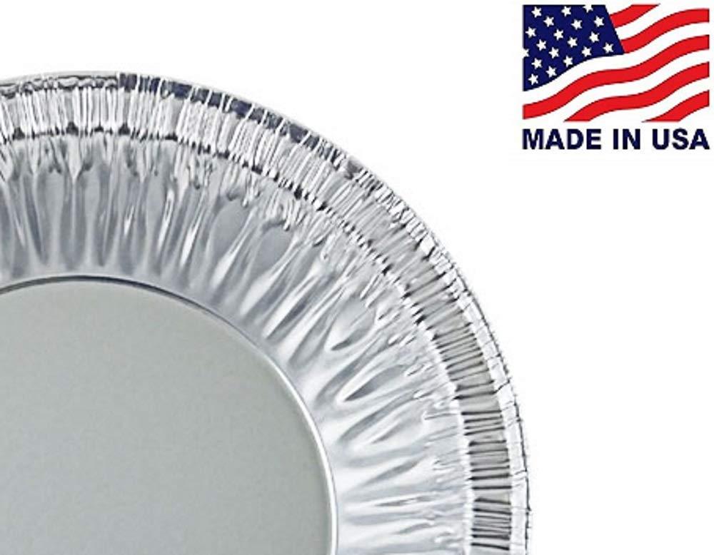 Pactogo 4'' Aluminum Foil Tart Pan 7/8'' Deep - Disposable Mini Baking Pie Tins (Pack of 500) by PACTOGO (Image #3)