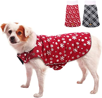 British Style Plaid Outwear XS 3XL Kuoser Dog Winter Coat