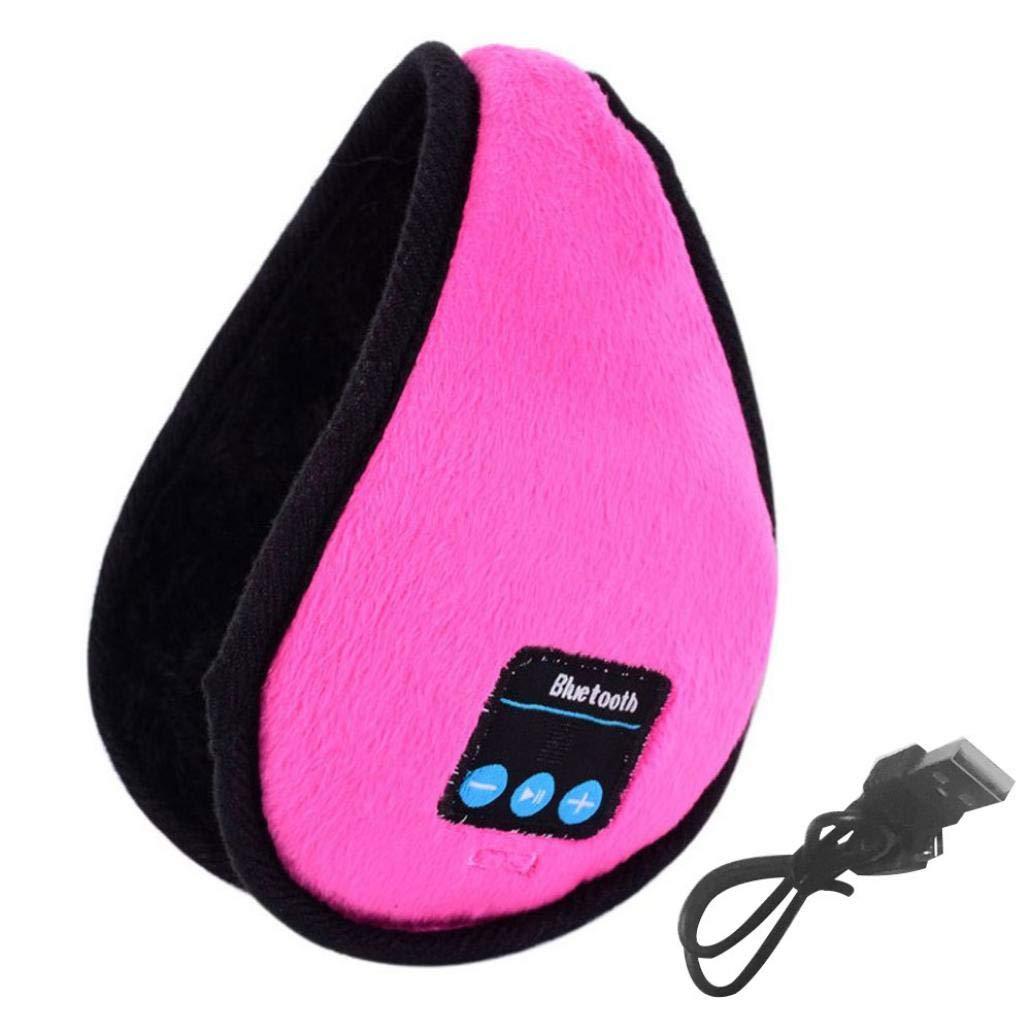 Winter Warm Smart Wireless Bluetooth Headset Headphone Speaker Music Earmuff Navy