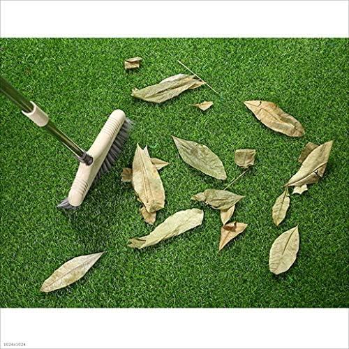 XEWNEG 庭の屋外の壁の装飾に適した10ミリメートル人工ターフ、グリーンペットフェイク芝生カーペットマット、ノンスリップ防水性と切断することができ、幅2メートル (Size : 2x7M)
