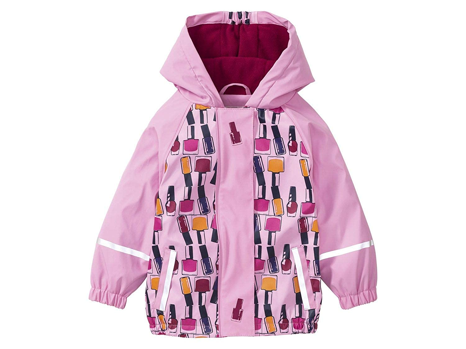 DAYU Girls Waterproof Hooded Jackets Fleece Lined Rain Jackets DAYU INC.