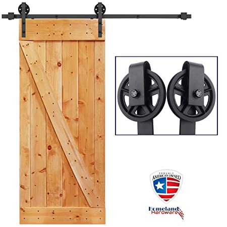 Kit de herramientas para puerta corredera interior - incluye perchas, riel sólido y hardware: Amazon.es: Bricolaje y herramientas