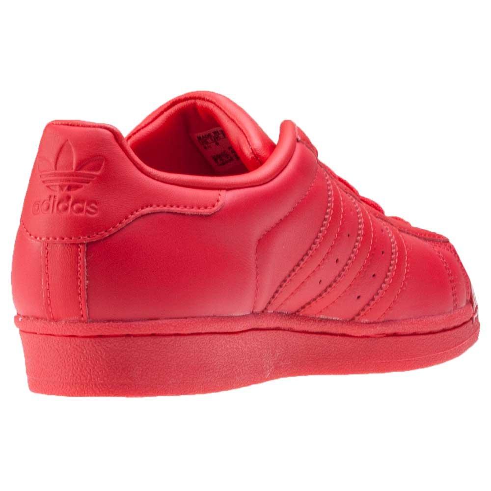 purchase cheap 2f708 f1bd7 adidas Superstar Glossy Toe, Zapatos de Baloncesto para Mujer, Rojo Rayred  Cblack, 44 EU  adidas  Amazon.es  Zapatos y complementos