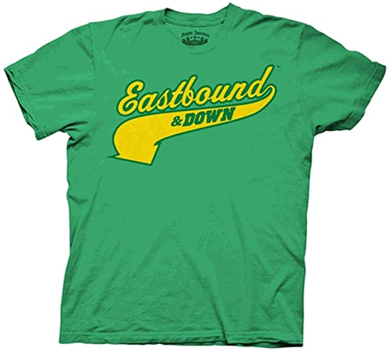 Amazon.com  Eastbound and Down Charros Kenny Powers 55 Jersey Green ... 5a7edd75aeec
