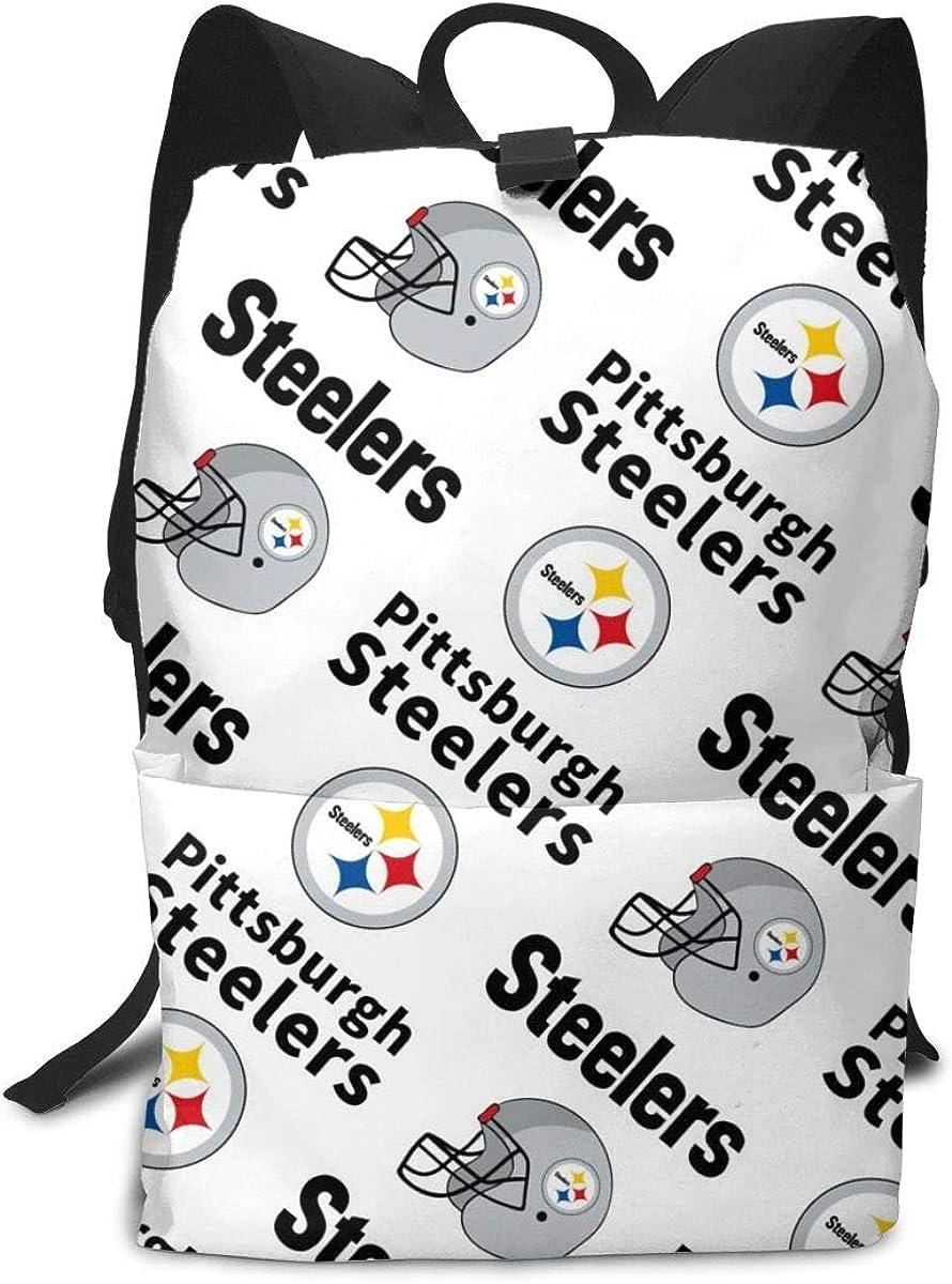 American Football Team Laptop Backpack Daypack Sports Casual Bag School Bookbag