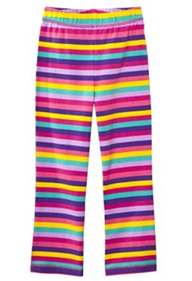 056bc4abe607a Amazon.com: Circo Infant Toddler Girls Striped Legging - Multicolor - 12  Months: Infant And Toddler Pants: Clothing
