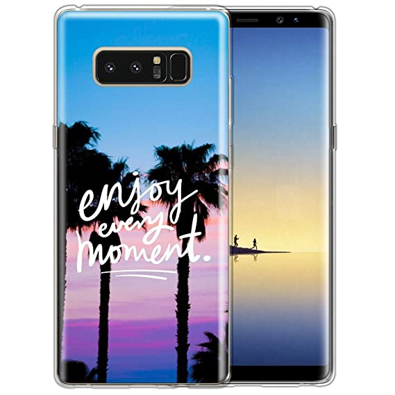 100% authentic c48c4 6aae5 Amazon.com: Designed Beach palm tree enjoy every moment Samsung ...