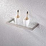 KES Glass Shelf Bathroom 14-Inch SUS 304