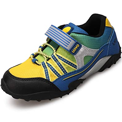 772fe5bb9 UOVO Boys Running Shoes Hiking Shoes Little Kids Sport Sneakers Athletic  Tennis Shoes Blue