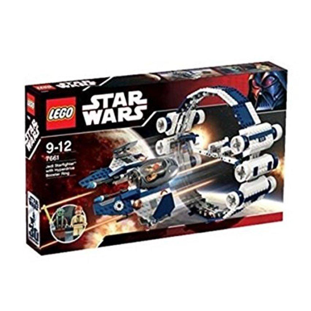 LEGO Star Wars 7661 - Jedi Starfighter mit Hyperdrive Booster Ring