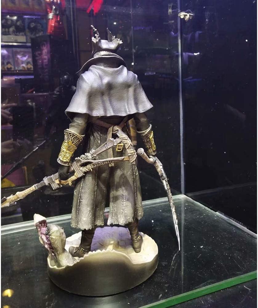 Altamente Dettagliato Accurate Sculpt Bloodborne LOld Hunters Hunter Statua PVC Figure QNSZBD Bloodborne: Hunter Action Figure Alta 12 Pollici