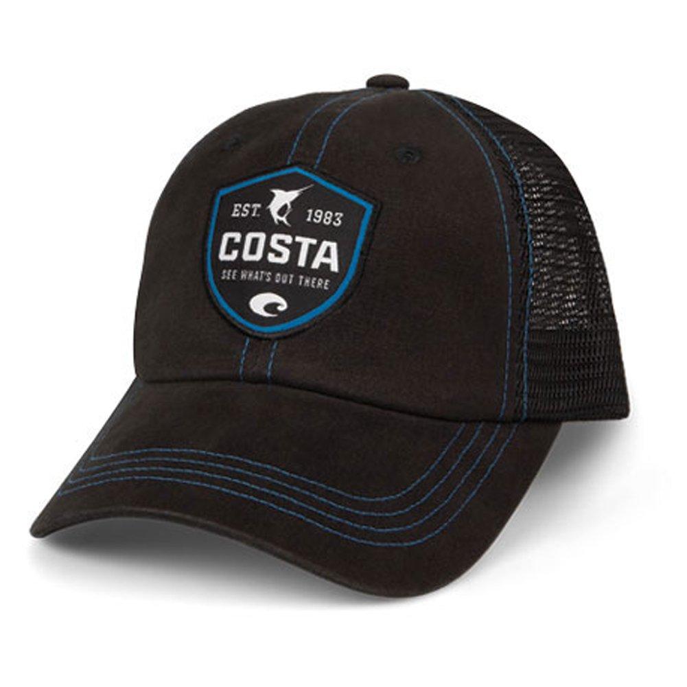4327e864b4920 Amazon.com  Costa Del Mar Shield Trucker Hat w  Velcro Closure ...