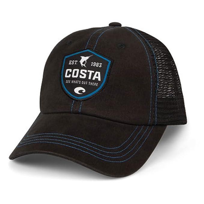 19cd74d3f798 Amazon.com: Costa Del Mar Shield Trucker Hat w/ Velcro Closure ...