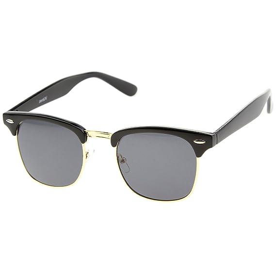 ZeroUV - Lunettes de soleil - Homme Noir Noir/doré taille unique JG7u9tnk