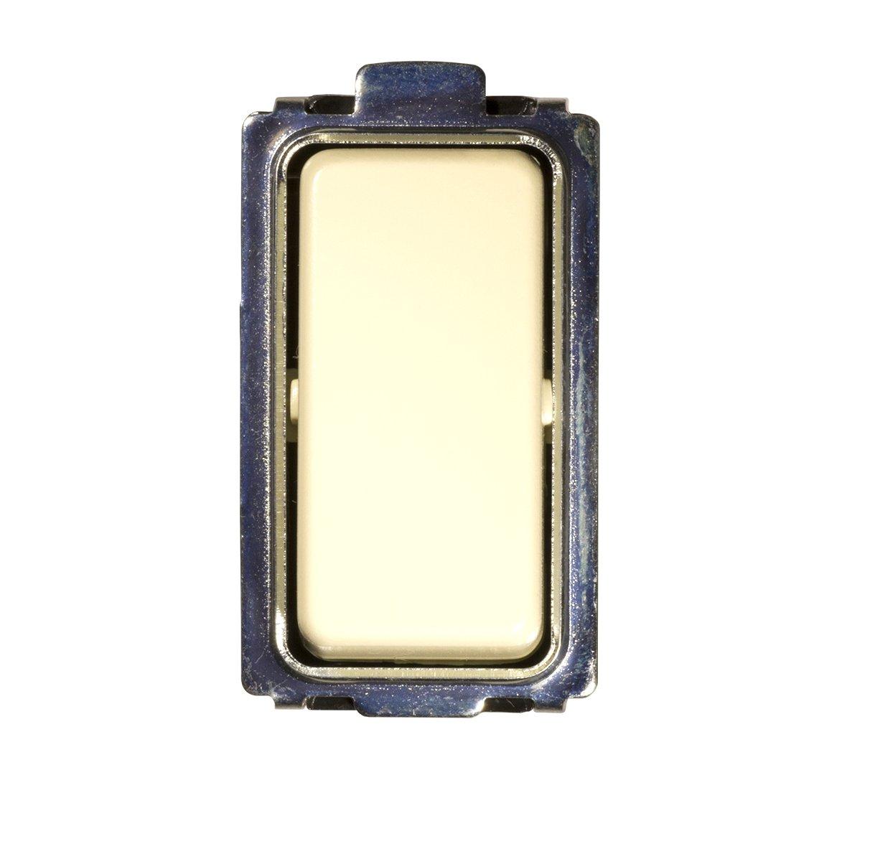 Schalter 1-polig weiß. Serie \'Laser\' anpassbar Serie \'Magic\' Bticino ...