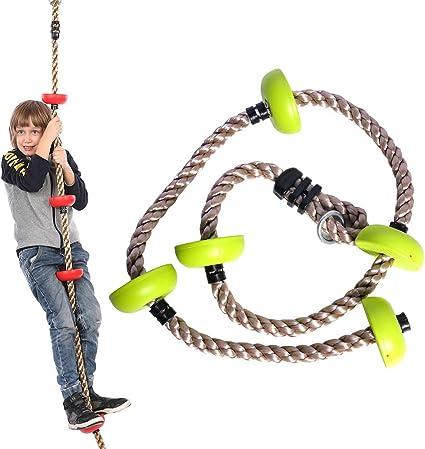 Niños Cuerda de alpinismo, Hanging Tree Disco oscilación de ...